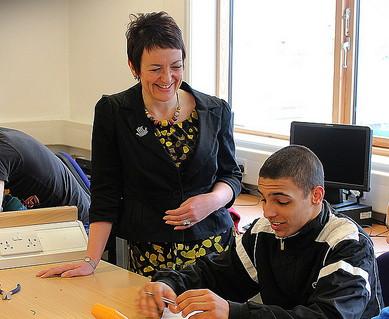 Angela Constance Cabinet Secretary for Education