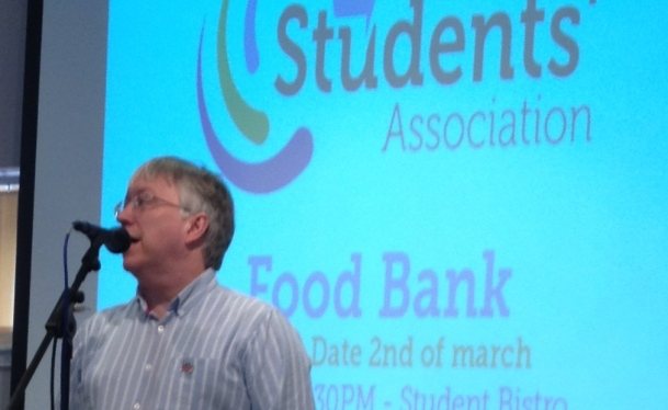 Douglas Chalmers pledged future work together with the Students Association